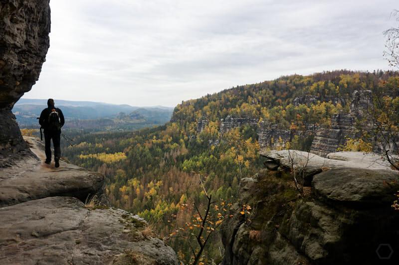 Blick aus der Ida-Grotte