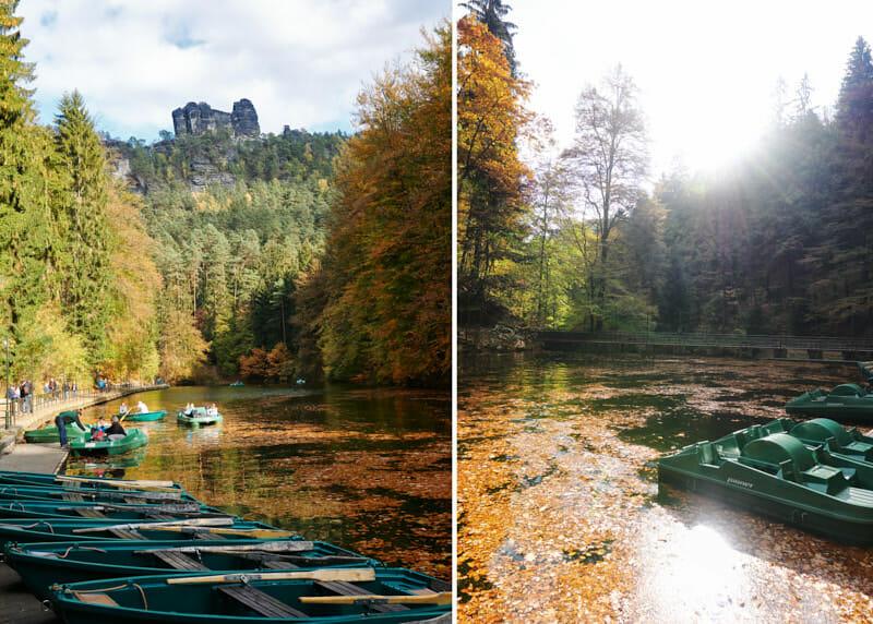 Elbsandsteingebirge Amselgrund und Amselsee