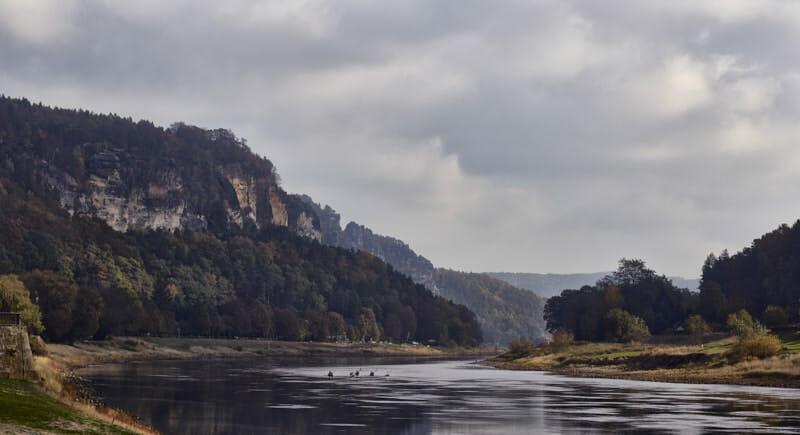 Caspar David lässt grüßen - Elbe und Bastei
