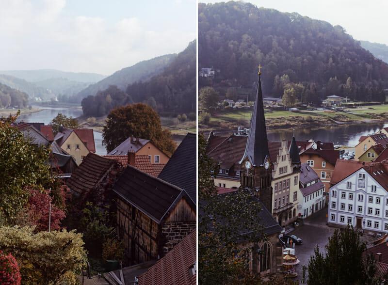 hübsches Städtchen - Wehlen in der Sächsischen Schweiz
