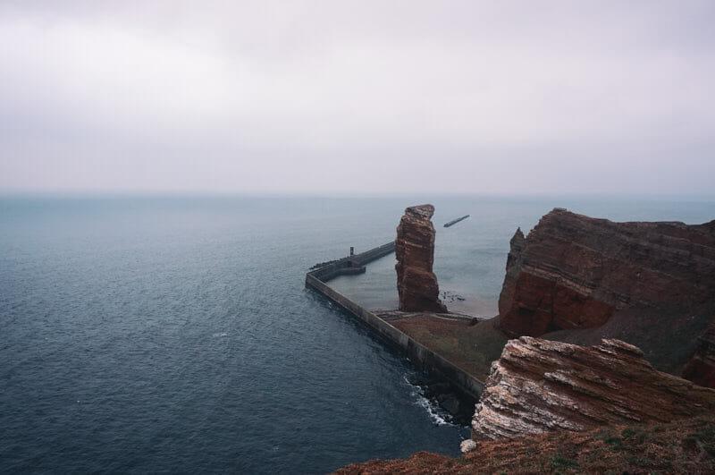 Wahrzeichen Helgolands - die Lange Anna