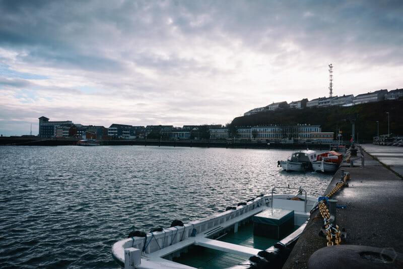 heute bleiben alle Helgoländer Börteboote im Hafen