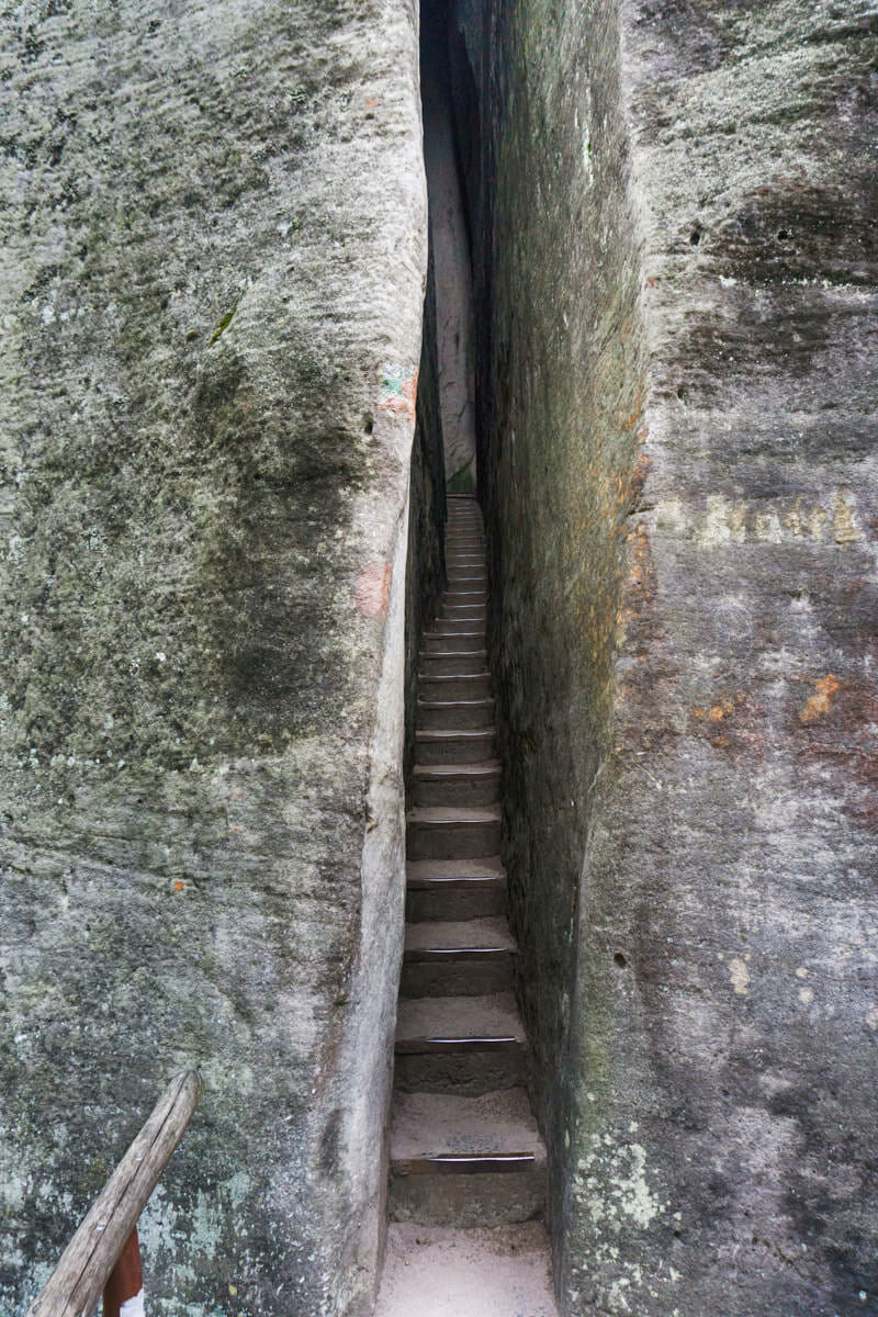 Adersbacher Felsenstadt Tschechien Fernwehbus Ich habe doch nicht zugenommen