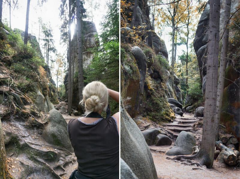 Adersbacher Felsenstadt Tschechien Fernwehbus - Wie ein Bild entsteht