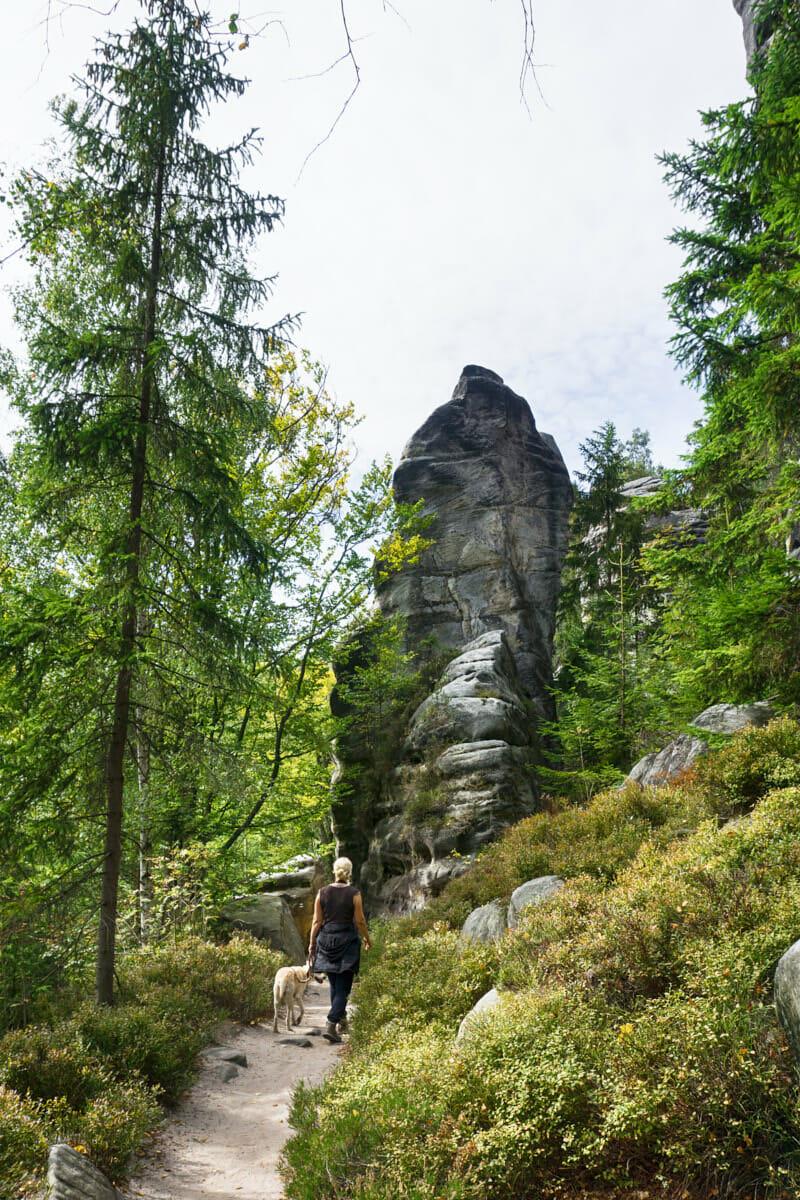 Adersbacher Felsenstadt Tschechien Fernwehbus - Rübezahl hat schöne Wege angelegt