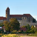 Quedlinburger Schloss vom Abteigarten aus