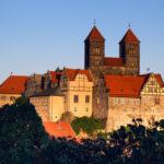 Blick auf das Schloss vom Münzenberg