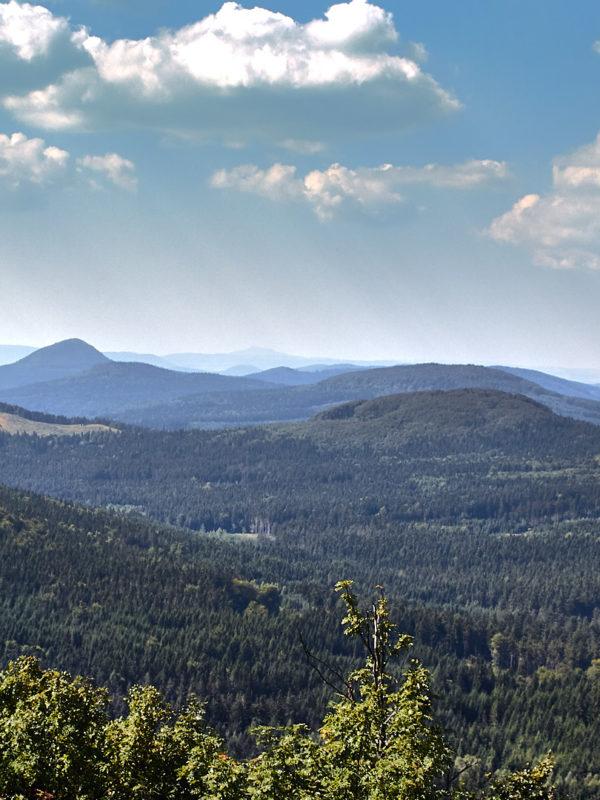 Zittauer Gebirge – Blick vom Lauschegipfel