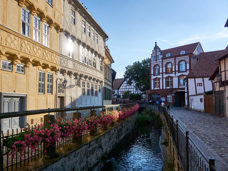 Quedlinburg Mühlgraben und Word