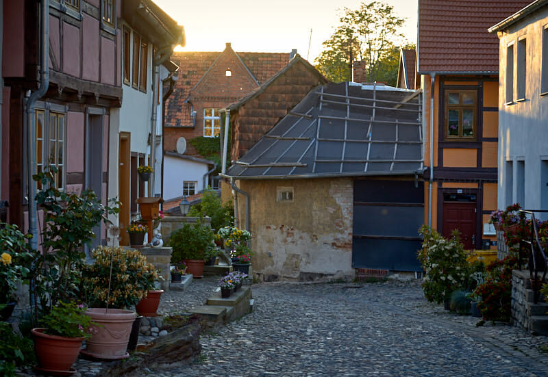 Quedlinburg Sehenswürdigkeiten Münzenberg Fernwehbus