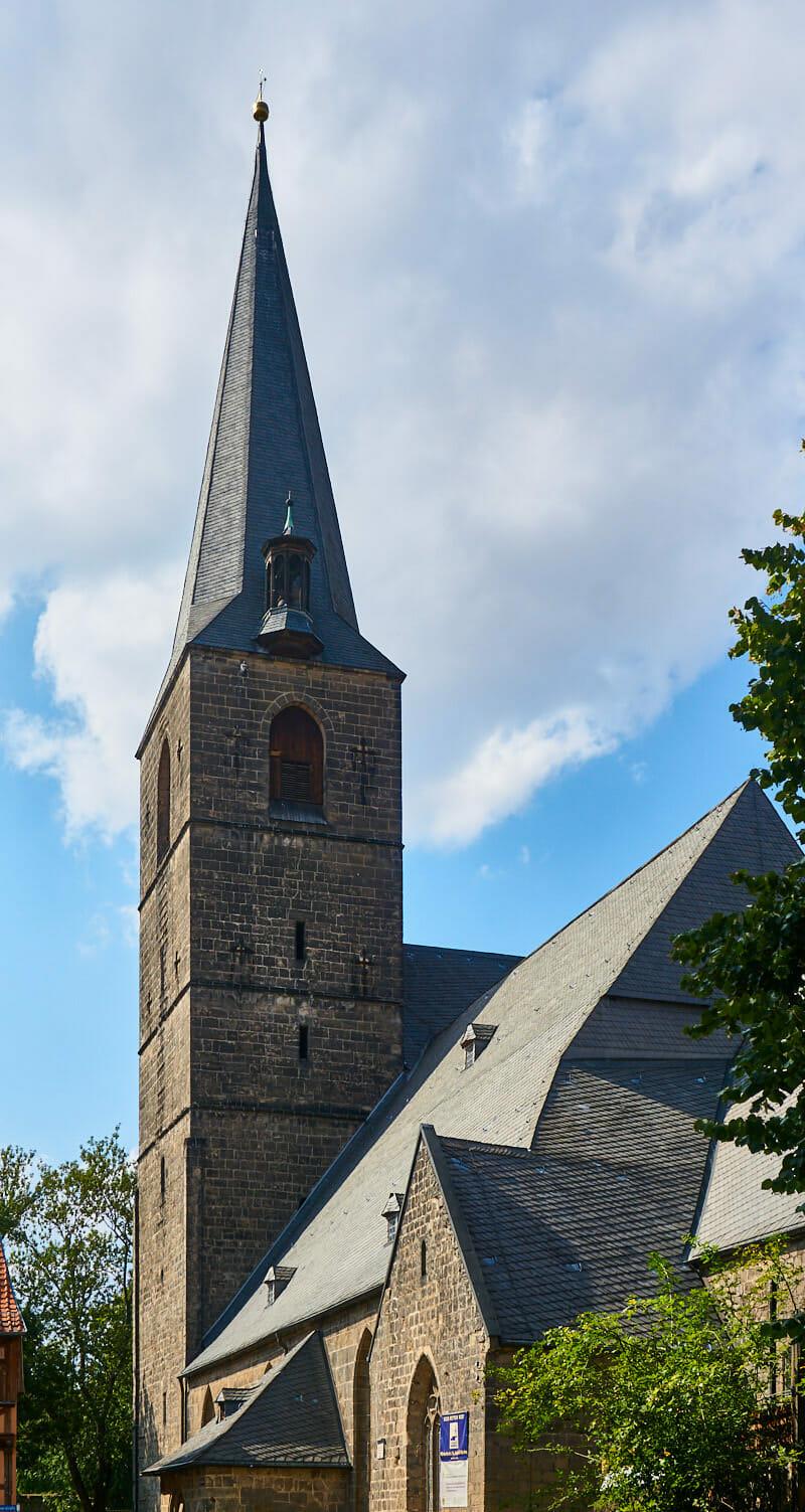 Sehenswürdigkeiten St. Aegidii Kirche Quedlinburg